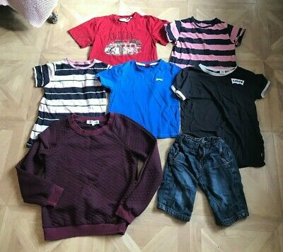 Size: Age 5-8 - Boys Clothes Bundle (Jumper, Tshirts, Jeans) - Next - VGC