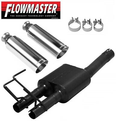 """Flowmaster Polished Double Wall SS Exhaust Tip 4/"""" Fits Ram 1500 5.7L #15356"""