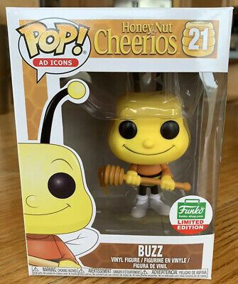 Funko Pop Honey Nut Cheerios Buzz Ad Icons Funko Shop Exclusive