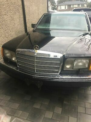 Mercedes-Benz: 500-Series 1986 560SEL Mercedes Benz original car in the movie Coming To America
