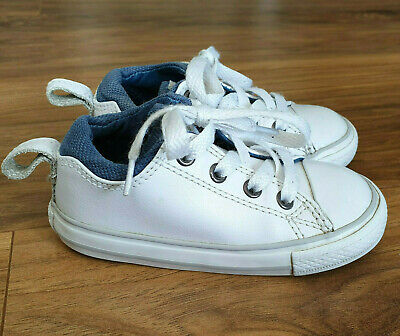 Boys Girls  CONVERSE ALL STAR Trainers Leather  Size 7