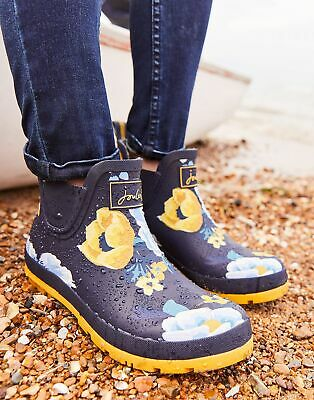 Joules Women Wellibobs Boots   Short Printed Wellie Boots -  Size Adult 4
