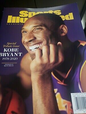 SHIPPING NOW Kobe Bryant Sports Illustrated Magazine Special 2020 Tribute Issue