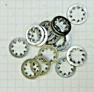 Lockwasher, Steel, for No. 8 screw, .340 OD, 10.000 pcs
