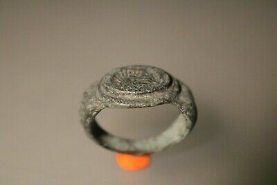 Ancient Fantastic Roman Bronze Ring * Septimius Severus   2nd - 4th century AD