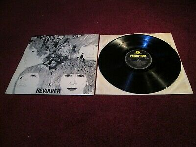 The Beatles Revolver Uk 1St Press Dr Robert Superb  Private Vinyl Collection