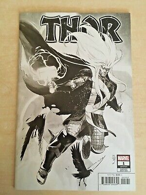⚡ Thor #1 (2020) Nic Klein Sketch Party Variant Cover Marvel Comics