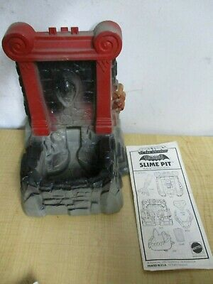VINTAGE ESTATE FIND He-Man Masters of the Universe SLIME PIT  WITH INSTRUCTIONS