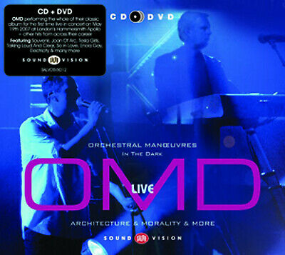 Orchestral Manoeuvres in the Dark : OMD Live: Architecture & Morality & More CD