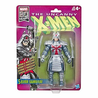 IN STOCK! X-Men Retro Marvel Legends 6-Inch Silver Samurai Action Fig by Hasbro