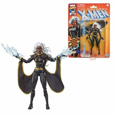 IN STOCK! X-Men Retro Marvel Legends 6-Inch Black Outfit Storm Action Fig Hasbro