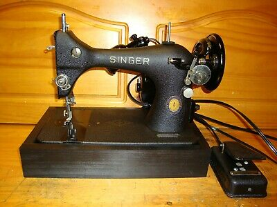 "Centennial Edition Singer Sewing Machine Model 128 ""Godzilla"", Collector"