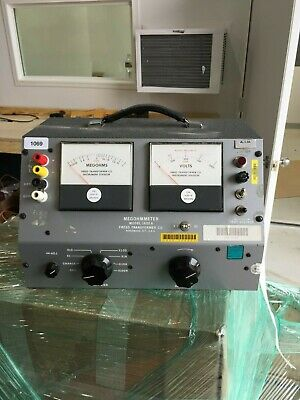 FREED Megohmmeter 1620 A - Powers On, Voltage Tested