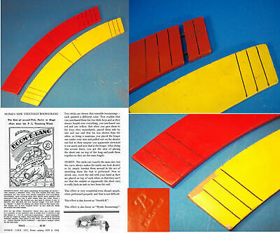 The Boom-E-Rang-Petrie Lewis-Red & Yellow arcs change length-circa 1960s-Af