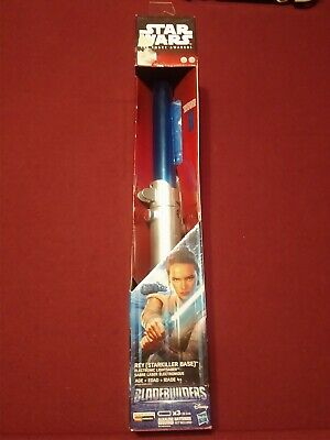 Star Wars Rey (Starkiller Base) Bladebuilders Electronic Lightsaber • New