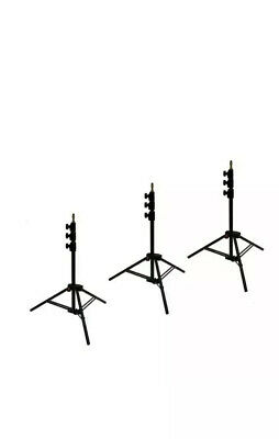Manfrotto Ranker Stand Black Alu 3 Set New 1005bac-3 (camera Video Tripod )