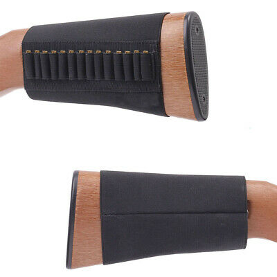 1pc 14 Rounds .22 Ruger 10/22 Elastic Buttstock Rifle Shell Ammo Holder Stock