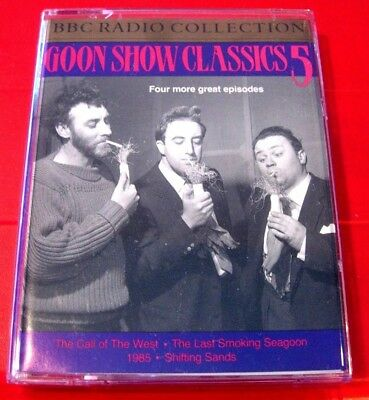 Goon Show Classics Vol.5 2-Tape Audio Goons Call Of The West/Shifting Sands+2