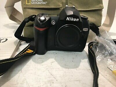 Nikon DSLR Camera D70 Used Untested Condition (R1)