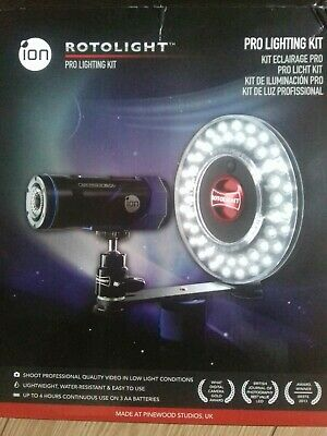 Rotolight Pro Lighting Kit Dslr led boxed and unused