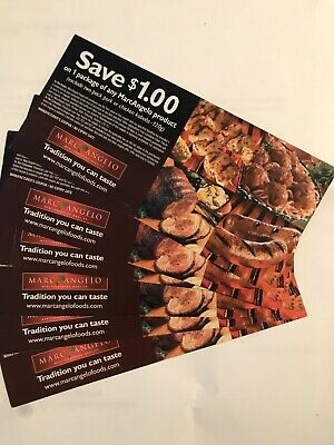 coupon 6x Michael Angelo 1$ No Exp Date