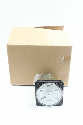 General Electric Ge 103131LSSN Ammeter 0-800ac Amperes