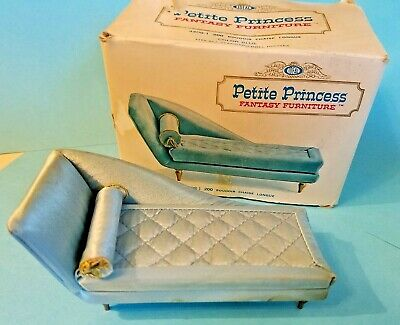 Vtg Ideal Petite Princess Fantasy 200 Chaise Longue Doll House Furniture