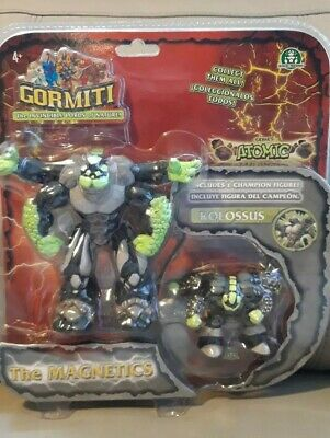 New Gormiti.atomic Series. The Magnetics. Kolosus.large& Small Cant Find Another