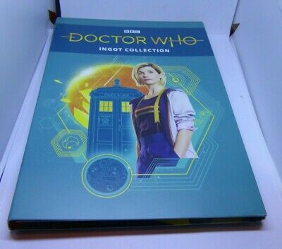 2018 BBC Doctor Who Ingot Collection in Collector's Folder