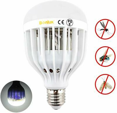 Electric Fly Zapper Flies Bug Insect Killer Light Bulb Lamp Mosquito Trap Wasp