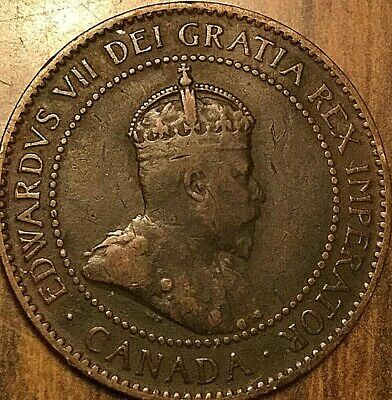 1906 Canada Large Cent Penny 1 Cent