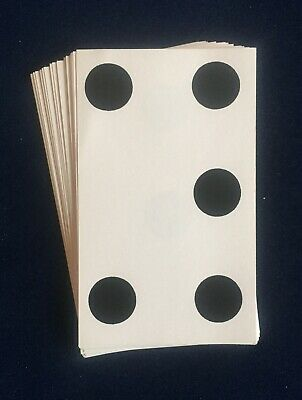 Vintage Magic Tricks 28 Demon Dots, Dots Impossible Cards For Giveaway