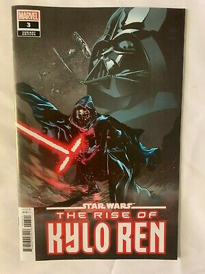 Marvel 2002 Comics Star Wars The Rise Of Kylo Ren #3 1:25 Landini Variant