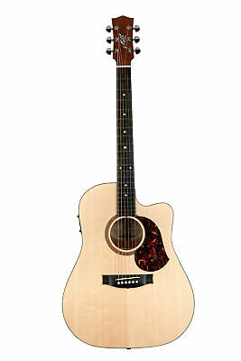 Maton SRS70C Road Series Acoustic Electric Guitar w/Case - Natural Satin