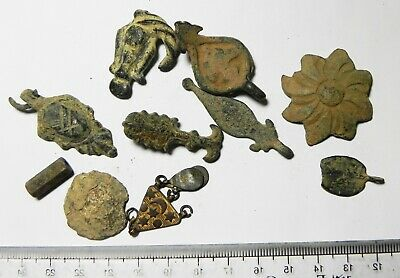 Zurqieh - As16742- Lot Of Ancient Bronze Relics. Mostly Roman. 100 - 500 A.d
