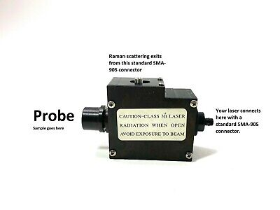 473NM RAMAN Spectrometer Probe - RAMAN Spectroscopy - for use with 473 nm Laser