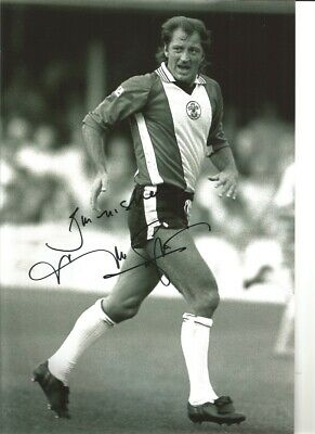 Frank Worthington Southampton Authentic Hand Signed football photo SS609