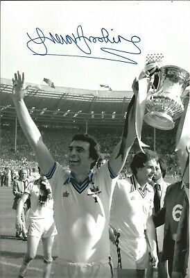 Trevor Brooking West Ham Authentic Hand Signed football photo SS679