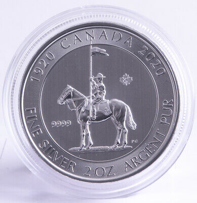 Kanada 10 Dollar 2020 - Mounted Police 2 oz *
