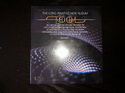 Tool Fear Inoculum CD Deluxe Edition Limited Tri Fold w/ HD Screen