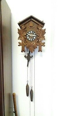 Black Forest German 30 Hour Cuckoo Clock August schwab regula movement