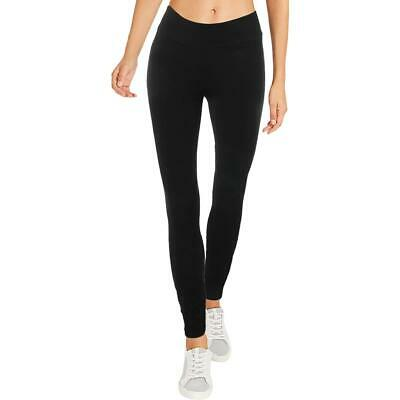 Tommy Hilfiger Womens Rany Black Pull On Active Everyday Leggings 2 BHFO 9530