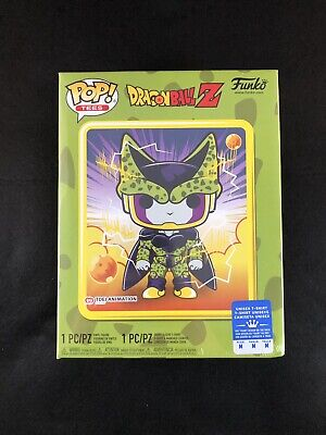 Dragon Ball Z Perfect Cell Funko And Tee GameStop Exclusive NIB Sz M