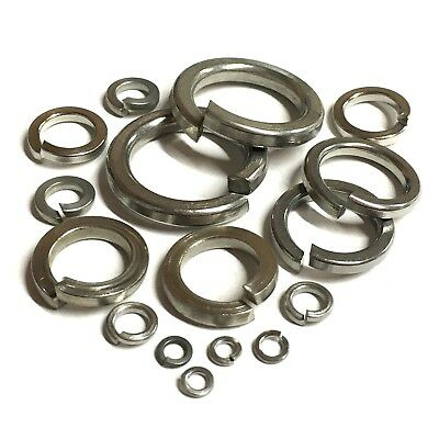 Imperial Rectangular Spring Washers A2 Stainless Steel Unc Unf Bsw Bsf Bscy Coil