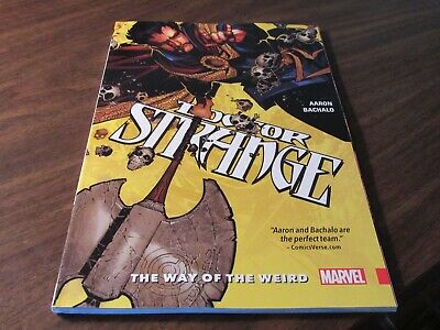 Doctor Strange The Way of the Weird Marvel $20 Graphic Novel TPB Comic Book