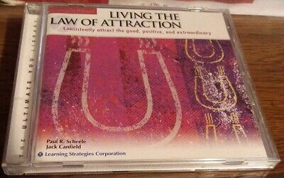 The Secret LIVING THE LAW OF ATTRACTION CD Paul Schelle & Jack Canfield CD MONEY
