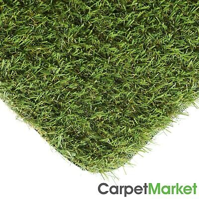 20mm Artificial Grass Top Quality Astro Turf Realistic Natural 2m & 4m CHEAP!