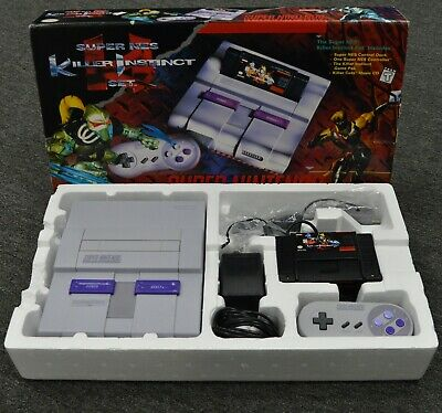 Super NES Killer Instinct Set Nintendo Entertainment System (console set) SNES