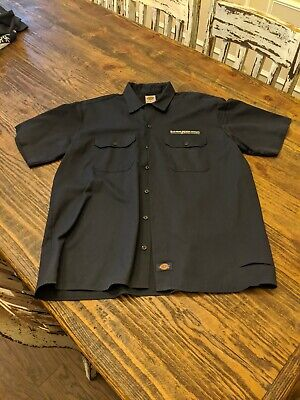 Dry Dock Brewing Mens Collared Work Shirt Size L Craft Beer