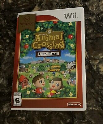Animal Crossing: City Folk (Nintendo Wii, Wii U) COMPLETE